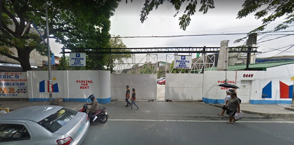 PEDRO GIL, STA. ANA COMMERCIAL LOT FOR LEASE
